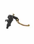 """Accossato - Accossato Radial Brake Master 19 x 19Forged Anodized Blackw/ Folding Lever for 1"""" Handlebar - Image 3"""