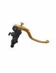 """Accossato - Accossato Radial Brake Master 19 x 19Forged Anodized Blackw/ Fixed Lever for 1"""" Handlebar - Image 2"""