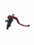 """Accossato - Accossato Radial Brake Master 19 x 19Forged Anodized Blackw/ Fixed Lever for 1"""" Handlebar - Image 6"""