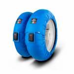 """Tire Warmers - CAPIT - Capit - CAPIT MINI VISION TYREWARMERS SET 12"""" BLUE"""