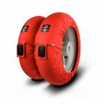 """Tire Warmers - CAPIT - Capit - CAPIT MINI VISION TYREWARMERS SET 12"""" RED"""