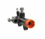Qnium - Qnium Rear Brake Master Cylinder for Sensor 12mm piston w/ 40mm mount