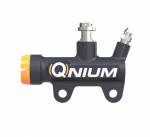 Qnium Rear Brake Master Cylinder 12mm piston w/ 40mm mount + Sensor