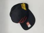 Casual Sportswear - Hustle Hard Racing - HHR Performance - Carbonin Flatbill Hat - Black