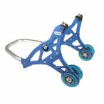 Alpha Racing Front stand aluminium, blue BMW HP4 2012-2014, BMW S1000 XR 2015- 2017, BMW S1000 R 2014-2017, BMW S1000 RR 2009-2019- and BMW M1000 RR 2021-