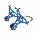 Alpha Racing Rear stand aluminum, blue