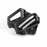 Alpha Racing Cover battery bracket kit, carbon BMW S1000RR 2019- and M1000RR 2021-