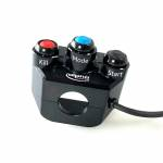 Alpha Racing Switch unit right 3 buttons, for M RCK BMW S1000RR 2019- and BMW M1000RR 2021-