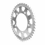 Alpha Racing Sprocket Aluminium, silver, T40, 525, OEM cast-rim