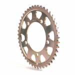 Alpha Racing Sprocket Aluminium, gold, T46, 525, orig. cast-rim
