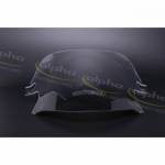 Alpha Racing Wind screen Racing spoiler clear BMW S1000RR 2009-2018,HP4 2012-2014