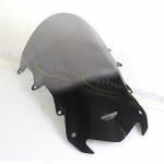 Alpha Racing Wind screen Sport f. OEM fairing, grey