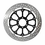 Alpha Racing Front brake disc 320 x 6 EVO, left T-floated BMW HP4 Race 2017-2018