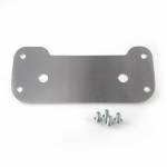 Chassis & Suspension - Upper Fairing Brackets - Alpha Racing Performance Parts - Alpha Racing Dashboard carrier plate, aluminium