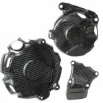 Alpha Racing Engine cover protection kit, carbon