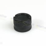 Alpha Racing Racing cap for oil drain valve, aluminum, black