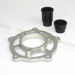 Alpha Racing Mounting kit for chain adjuster SBK, aR wheel BMW S1000RR 2009-2018,HP4 2012-2014