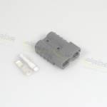 Engine Electronics - Racing ECU Wiring Harness and Accessories - Alpha Racing Performance Parts - Alpha Racing Anderson plug SB50a, 6qmm, grey