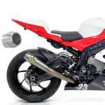 Alpha Racing Arrow Competition EVO-2 full titanium BMW S1000RR 2015-2018